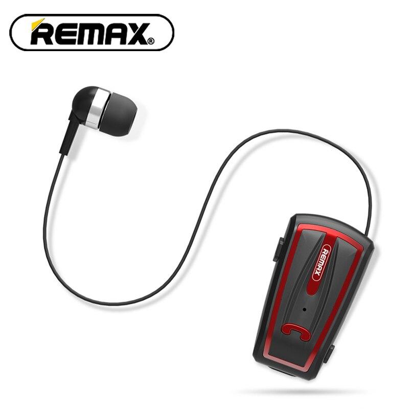 Original Remax Bluetooth Collar auriculares 4,0 teléfono móvil universal inalámbrico comercial teléfono RB-T12