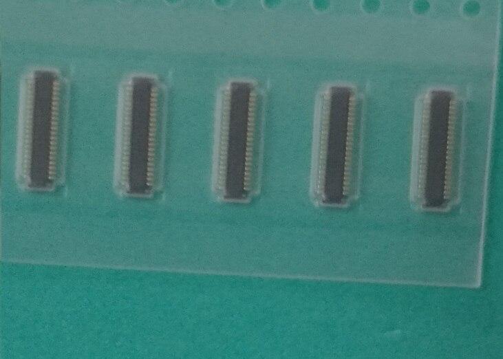 5 unids/lote FPC conector pantalla LCD para Samsung S6 G925F G9250 S6 Edge G925 G925F en la placa base