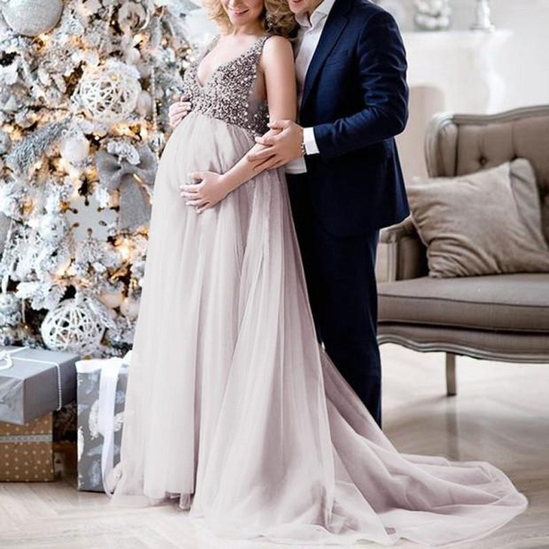 Maternity Photography Props Pregnancy Cloth Maternity Shooting Photo Pregnant Dress Maternity Dresses for Photo Shoot enlarge