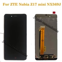 new lcd for zte nubia z17 mini nx569j nx569h lcd displaytouch screen digitizer assembly for nubia z17mini lcd repair parts