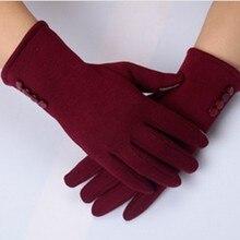 Winter Warm Ladies Girls Screen Gloves Mittens Wrist New Cashmere