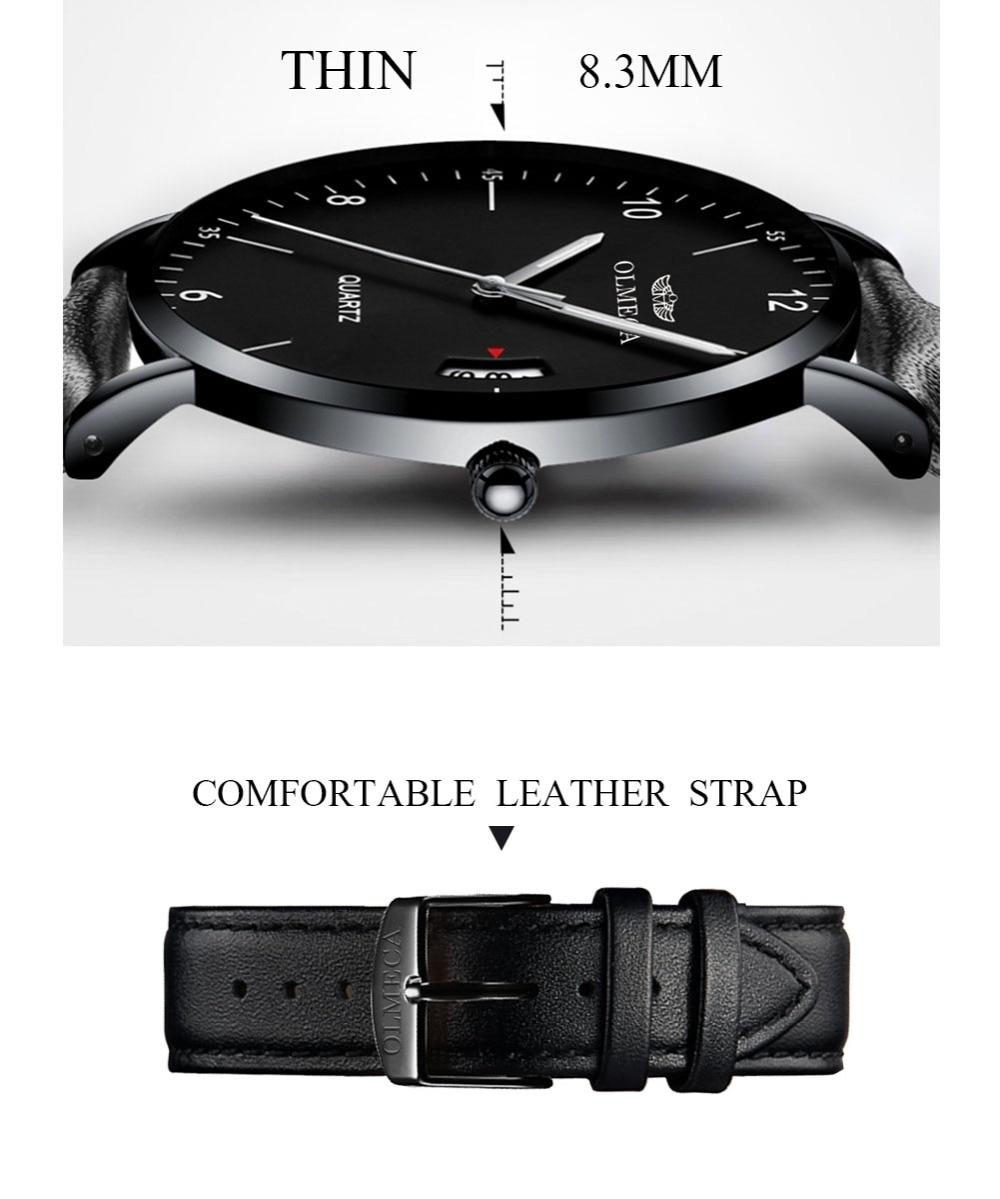 OLMECA Clock Luxury Sample Quartz Women Watches Water Resistant Luminous Hands Wristwatch Saat Montre Mesh Band enlarge