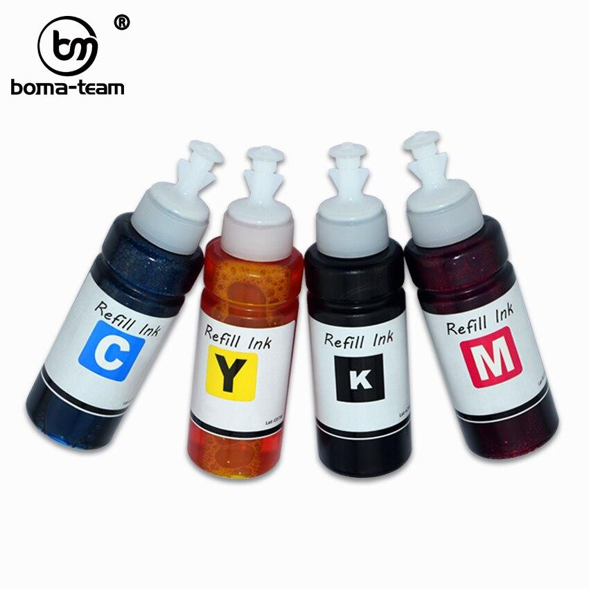 BOMA-TEAM K/C/M/Y 4 piezas 940xl tinta de tinte a base de agua HP940 para HP officejet pro 8000 de 8500 8500a impresoras recarga cartucho de tinta