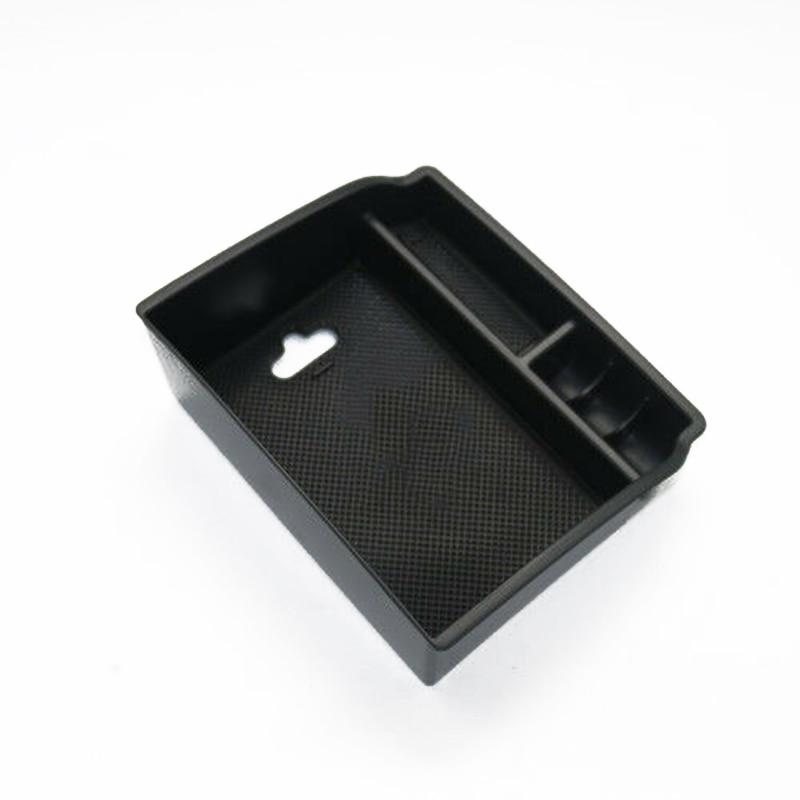 Caja de almacenamiento antideslizante de almacenamiento de goma para Toyota Hilux Revo 2015-2017 contenedor de reposabrazos útil duradero