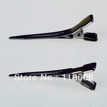 DHL Free Shipping 500pcs New Silver Flat Metal Single Prong Alligator Hair Clips for DIY Hair Bows