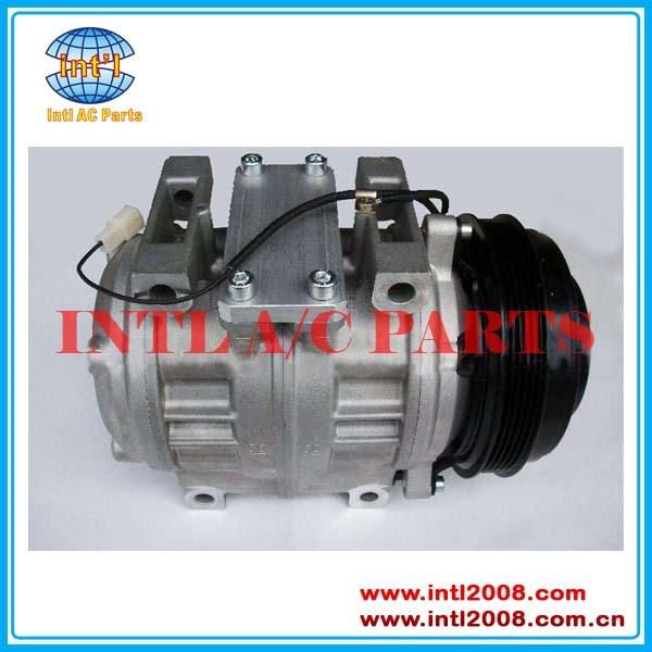 447220-1101 de 4472201101 10P30C 10pa30c auto ac aire para compresor de aire acondicionado para TOYOTA COASTER 5PK polea V 24V