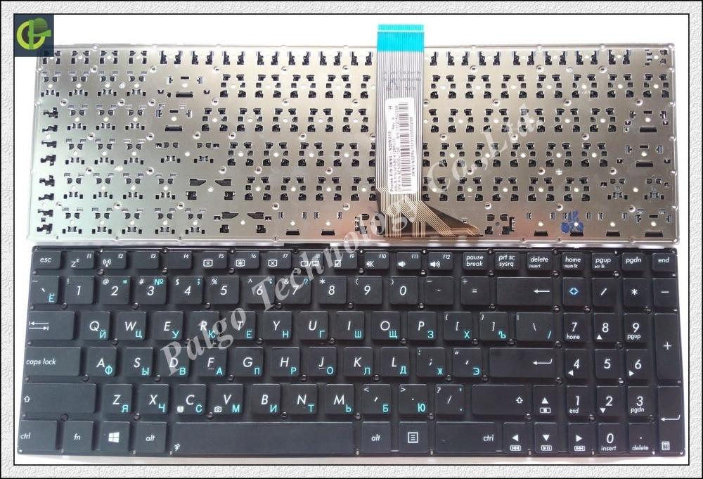 Ruso RU teclado para ASUS X554 X503M Y583L F555 W519L A555 K555l A553 A553M A553MA D553M D553MA X503M X503MA R515M r515MA