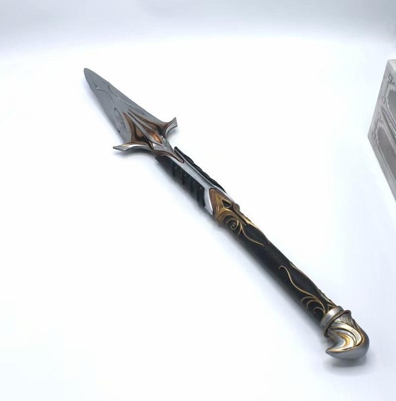 9th generation Assassin Sleeve arrow Odyssey Leonidas Spear sword figure model T30