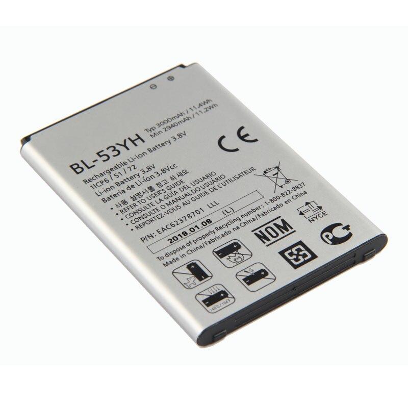 Fesoul Telefone BL-53YH Replacemen Bateria Li-ion de Alta Capacidade Para LG G3 F400 F460 D858 D830 VS985
