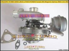 Turbo GTB1649V 757886-0004 757886-28231   Turbocompresseur pour HYUNDAI Sonata, pour KIA Magentis OPTIMA 05- D4EA 2.0L CRDi 140HP