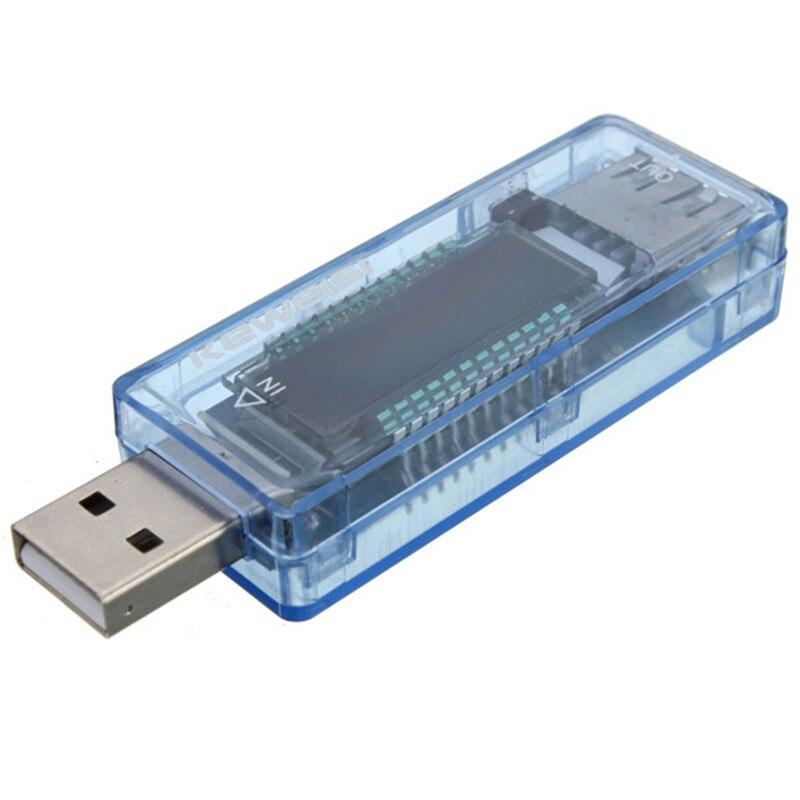 Ormino alta calidad KEWEISI 3V a 9V 0A a 3A cargador USB batería capacidad probador medidor de corriente de voltaje