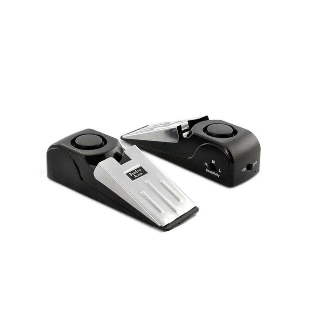 120dB DoorStop Alarm Wireless Home Travel Security System Portable Safety Wedge Alert Alarm system Door Stop Alarm
