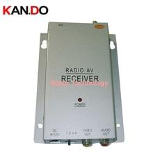 4 canaux 2.4G Sans Fil récepteur pour cctv sans fil 2.4G radio vidéo AV RX accepteur récepteur, cctv récepteur pour drone pour fpv