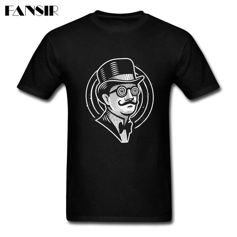 2019 New Fashion T Shirt Men Male I'm The Hypnotist Men T Shirt Custom Cotton Short Sleeve Guys Clothes Tops
