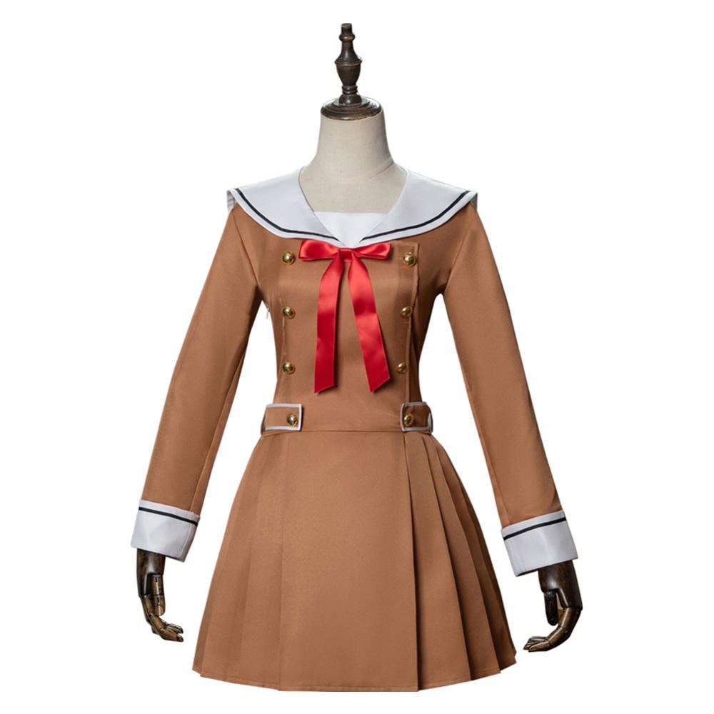 Bang Dream Cosplay Poppin' Party Jk Uniform Dress Long Sleeve Sailor Costume Halloween Carnival Custom