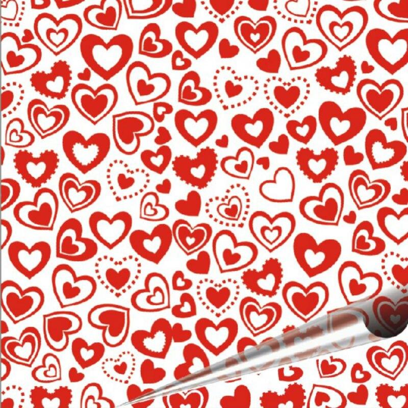 """Novedad 2018 en lámina de transferencia de Chocolate en forma de corazón, 10 hojas por paquete, papel de Chocolate de transferencia de 8,07 """"x 12,6"""" para bodas y regalos"""