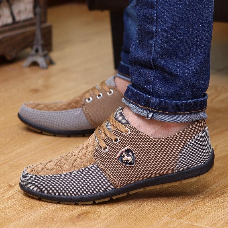 Sapatos masculinos sapatos de lona da moda sapatos casuais masculinos verão respirável amarelo comfortbale alpercatas tênis masculinos planos tamanho grande
