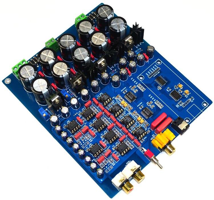 PCM1794 + AK4113 Делюкс DAC декодер плата поддержка волокна коаксиальный USB вход