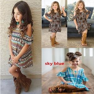 SAMGAMI BABY 2018 New Design Baby Girls Summer Dress Kids Print Three Models Party Dress for Girls Children Fashion Clothes
