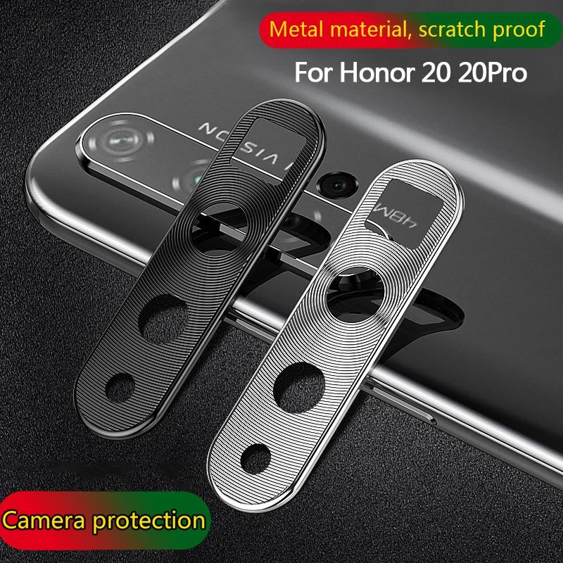 Protector de lente de cámara de Metal para Huawei Honor 20 20 pro 20i Anti-rayado 360 protección completa anillo protector de cámara para Honor 20