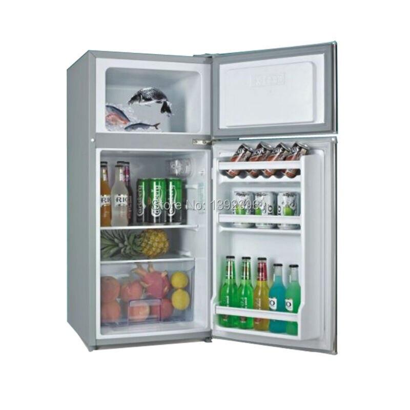 Compressor solar frigorífico cosmético refrigerador 12v refrigerador automotivo soalr painel freezer 108l