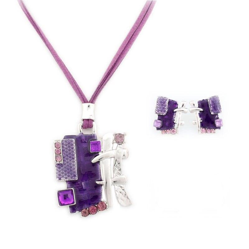 Plaza de la moda de joyas de collares y pendientes conjunto regalos de joyería de moda conjunto A408