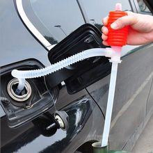 Siphon manuel daspiration de voiture   En plastique, pompe à liquide, huile essence Diesel eau Siphon manuel, aspiration pour accessoires de voiture de camion