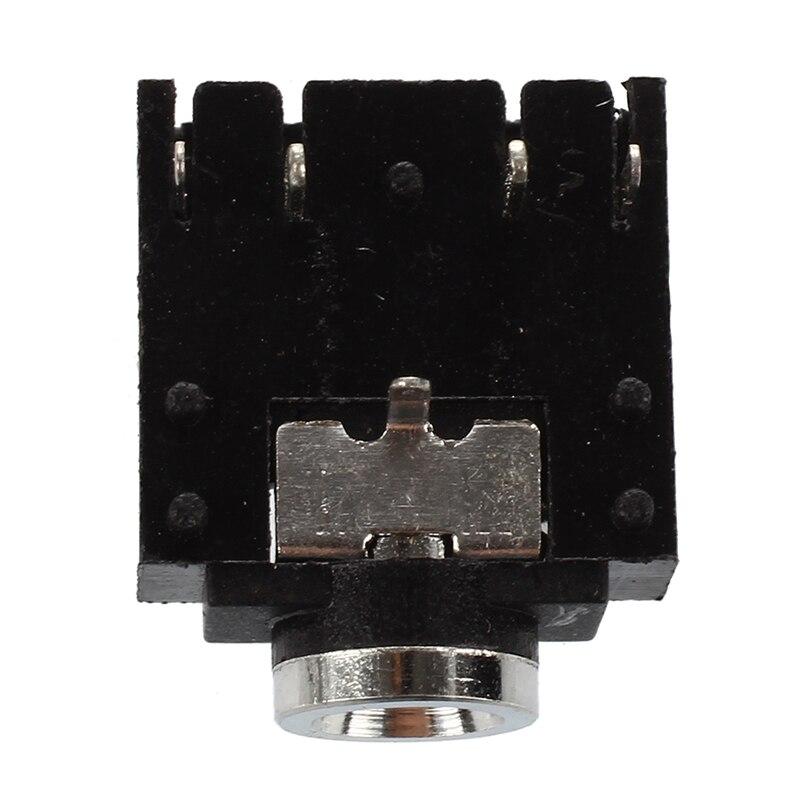 10 piezas DIP PCB Montaje 5 pines 3,5mm enchufe auriculares estéreo Audio Jack