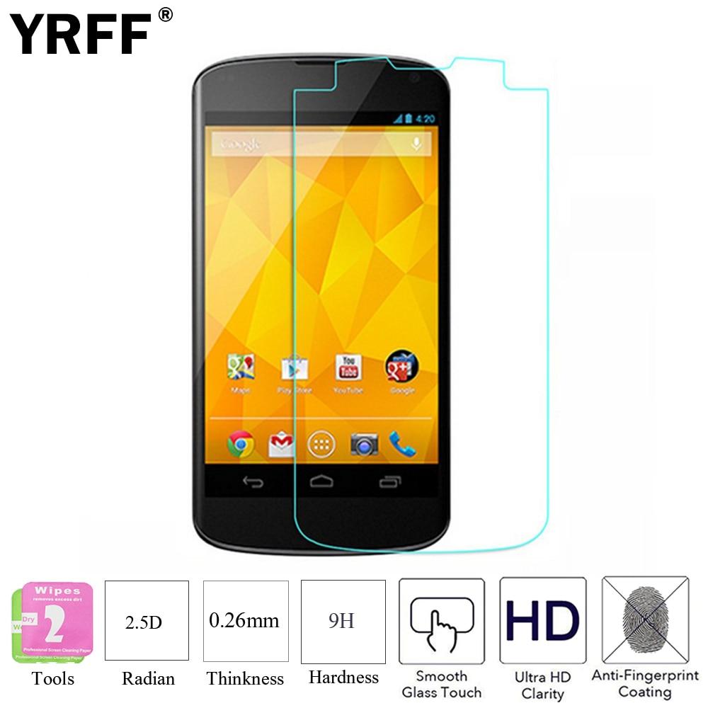 2 шт. 2.5D 0,26 мм 9H Премиум Закаленное стекло, защитная пленка для экрана для LG Google Nexus 4 E960 5 E980 5X 6 6P Pixel XL