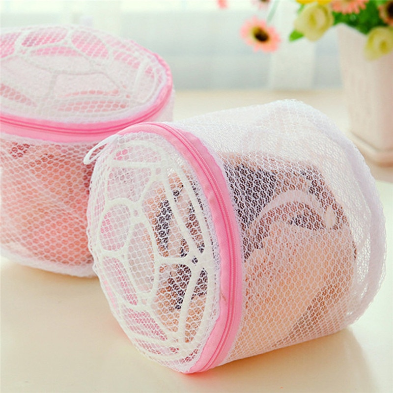 Домашна употреба бельо пералня мрежа мрежа дрехи бельо организатор пране чанта полезна мрежа мрежа сутиен пране чанта, цип пране