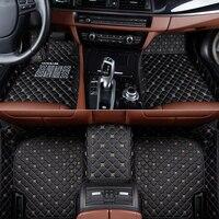 car floor mats for Jeep Grand Cherokee Wrangler Patriot Cherokee Compass commander car accessories Custom auto Stickers Custom