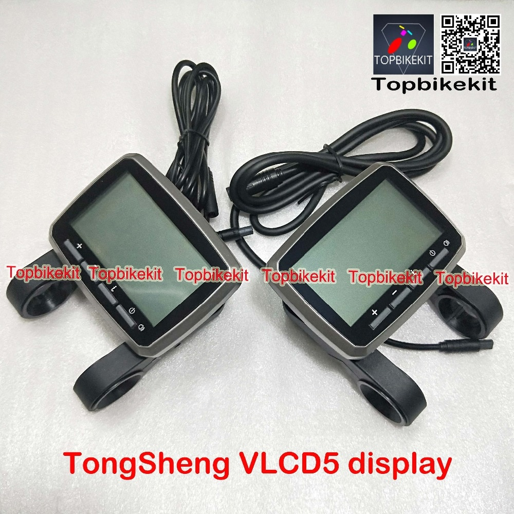 TSDZ2 display VLCD5 Display 6 pins/8 pins stecker Für TSDZ2 Mitte Antrieb Motor 250W 350W 500W Tongsheng motor teile TSDZ2 Teile