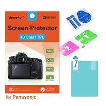 Deerekin HD doux TPU protecteur décran pour Panasonic Lumix DMC-FZ2500 DMC-FZ2000 DMC FZ2500 FZ2000 DC-FZ1000 II FZ1000M2