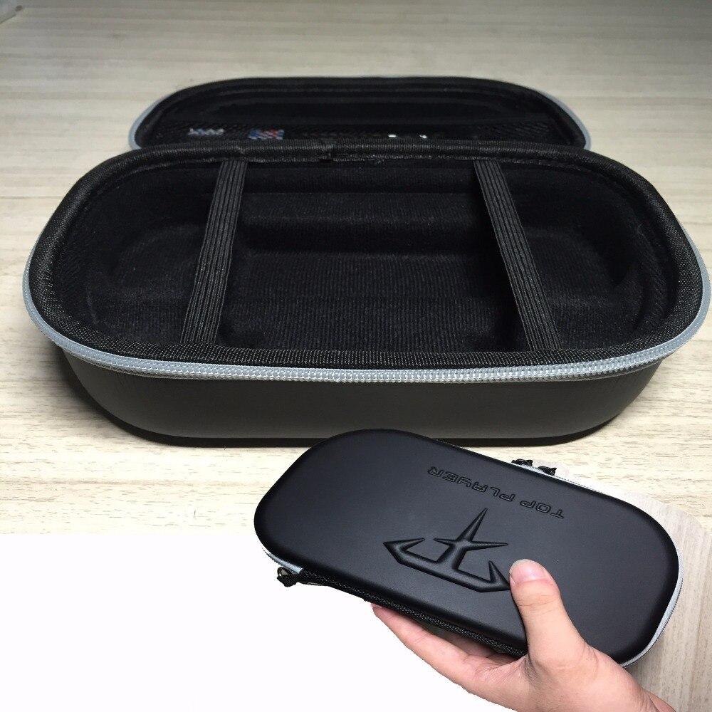 Funda de transporte dura negra XBERSTAR para Sony PS Vita 1000/2000, accesorios de juego