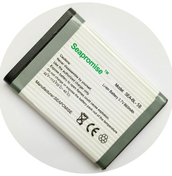 Großhandel 10 stücke lot mobil-telefon batterie BL-5B BL5B für NOKIA 3220 3230 5000 5070 5110 5140 6060 6070 6080 7360 n80 n90