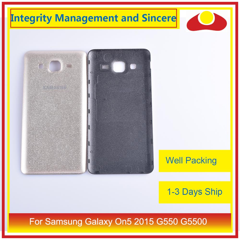Original For Samsung Galaxy On5 2015 G550 G550F SM-G550FY Housing Battery Door Rear Back Cover Case Chassis Shell