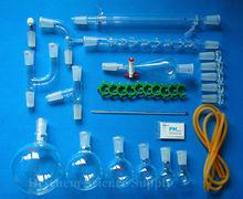 New Chemistry Glassware Kit,Lab Chemical Glass Set,24/40 Ground Joint,31PCS