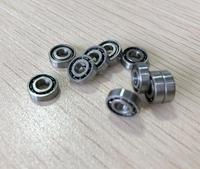50pcs/lot ABEC-5 SMR63 3*6*2 Open stainless steel miniature ball bearing SMR63 3x6x2mm