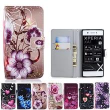 Leather Phone Case Wallet Cover For Sony L1 L2 Xperia XA1 XA2 XA1 XA3 Ultra XZ Premium XZ1 XZ2 XZ3 Compact Filp Stand Book
