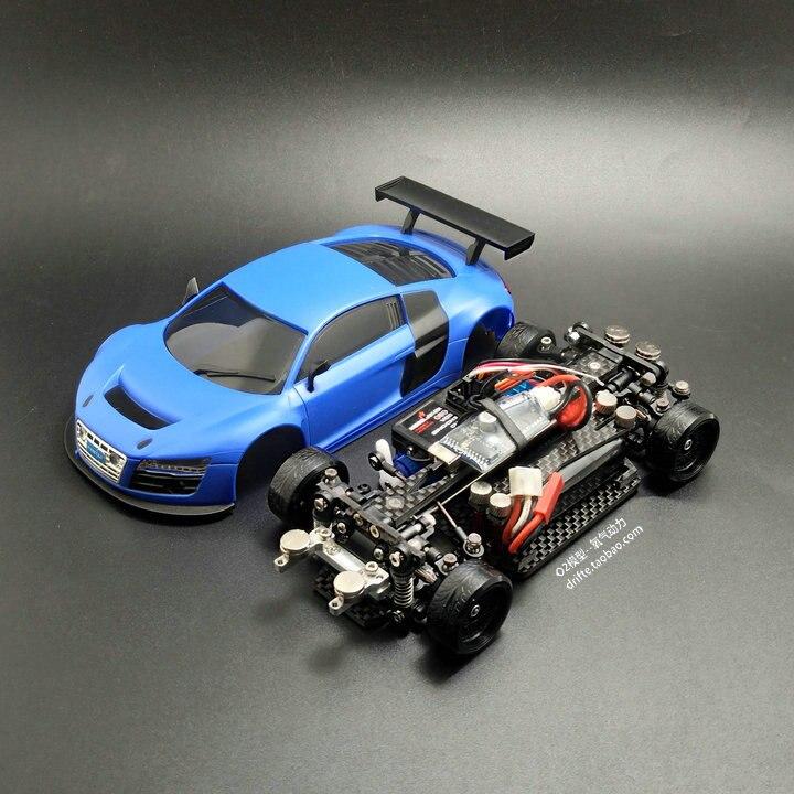 MINI-D1/28RC Mini Drift Racing vier-stick rear drive fernbedienung elektrische modell racing Auto