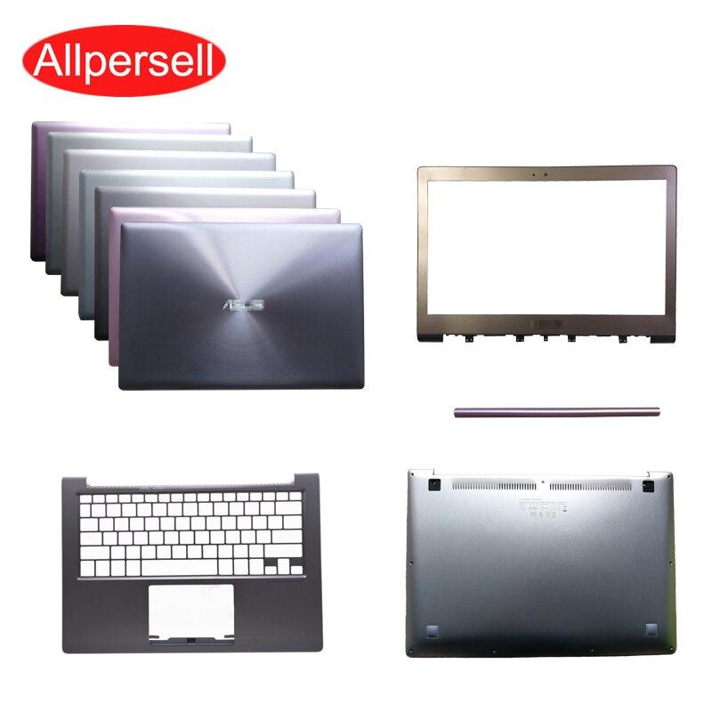 Portátil para Asus UX303 UX303L U303L UX303LN UX303L cubierta superior/reposamanos/carcasa inferior/Marco de pantalla cubierta con bisagras no táctil