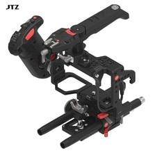 JTZ DP30 plate-forme de plaque de base de Cage de caméra + poignée de poignée de contrôle électronique numérique pour SONY A7 & A7II A7R A7S