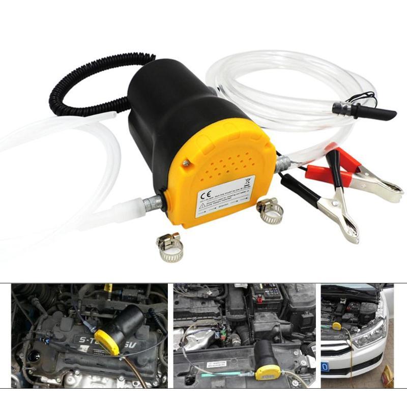 مضخة كهربائية غاطسة للسيارة ، 60 واط ، 12 فولت/24 فولت ، نظام تصريف الزيت السائل ، للسيارة RV ، القارب ، ATV ، أنابيب الشاحنة