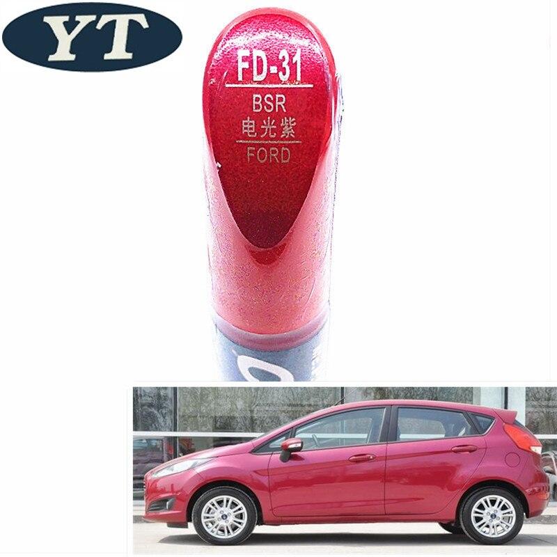 Pincel de reparación de arañazos de coche, bolígrafo de pintura automática de color púrpura para Ford ecosport, kuga, focus, s-max, fiesta, marcador de pintura de coche