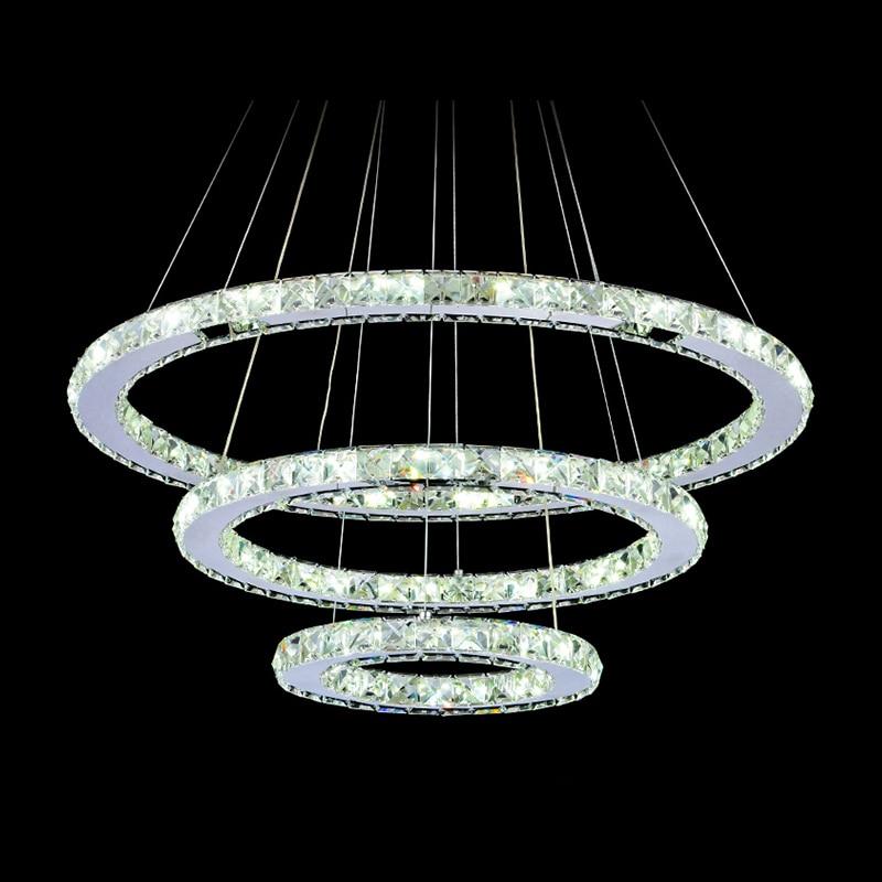 Светодиодная люстра с алмазным кристаллом, светильник для дома