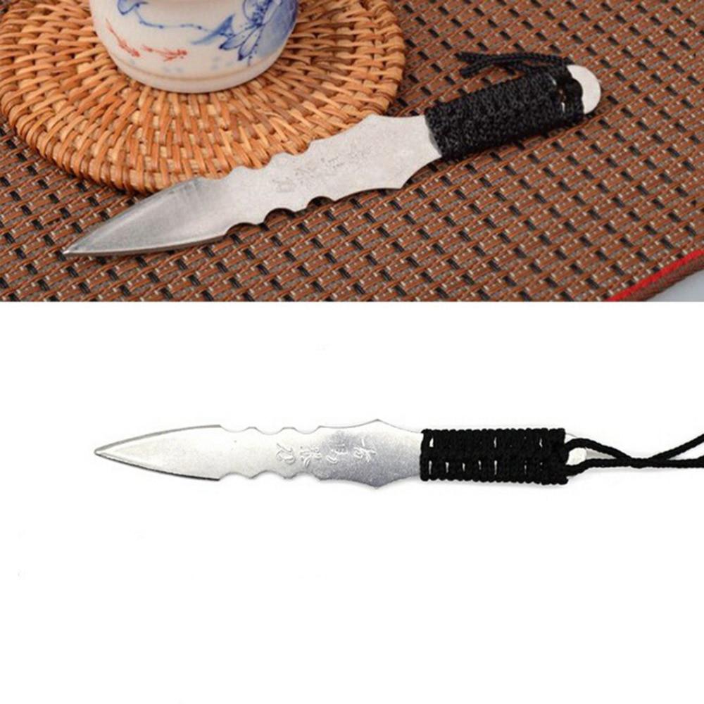 1 Uds. Puerh cuchillo de té aguja Puer cuchillo Cono Acero inoxidable metal inserto té set engrosamiento puer cuchillo té