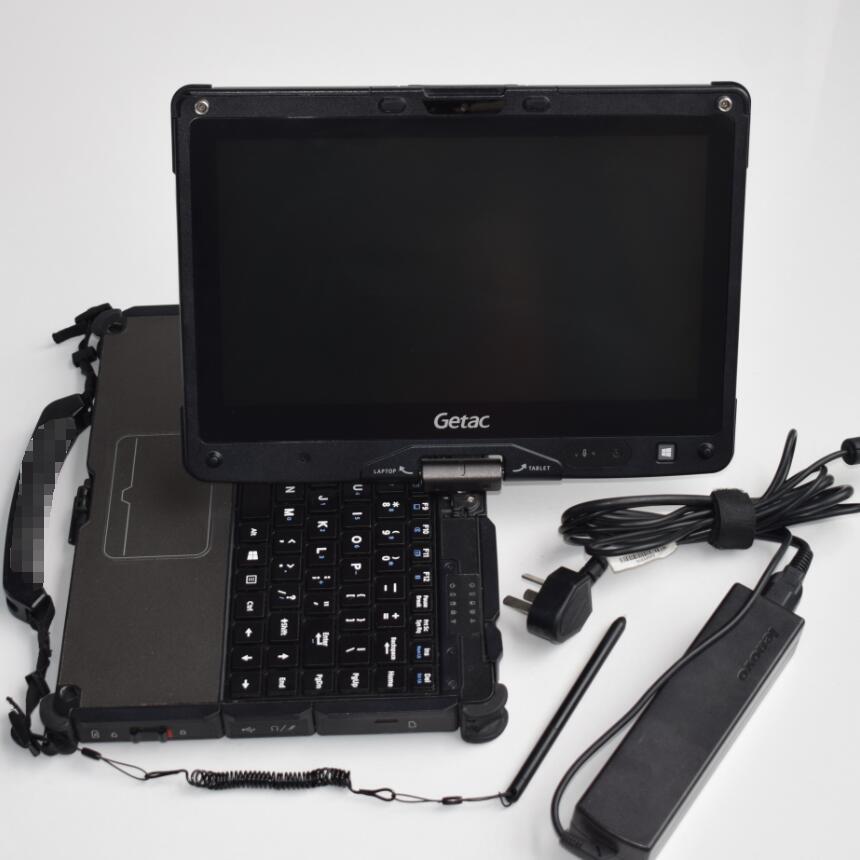 Getac V110/I5/8G بطارية كمبيوتر محمول ، جهاز لوحي ، شاشة متينة ، سرعة عالية ، أداة تشخيص تلقائية ، جديد من 2019
