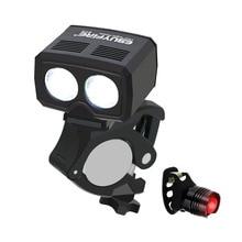 LED vélo lumière 6000LM 5 Modes USB Rechargeable vélo avant lampe 2x lumière LED vélo feu arrière