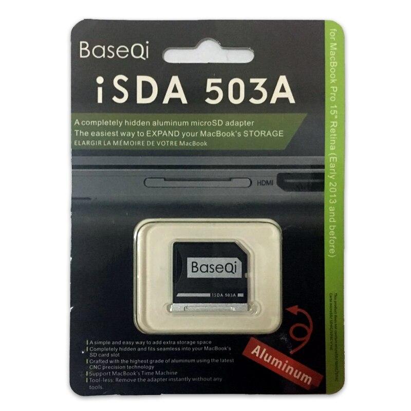 503A Baseqi Mini Karte Stick Adapter Für Macbook Pro Retina 15 Modell Mitte 2012/Frühen 2013