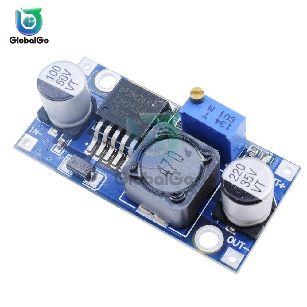 1PCS DC-DC Buck Converter Step Down Module LM2596 Power Supply Output 1.23-30V Power Supply Regulator Module